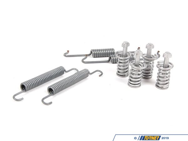 T#12296 - 34410038346 - Genuine BMW Brakes Repair Kit Springs 34410038346 - Genuine BMW -
