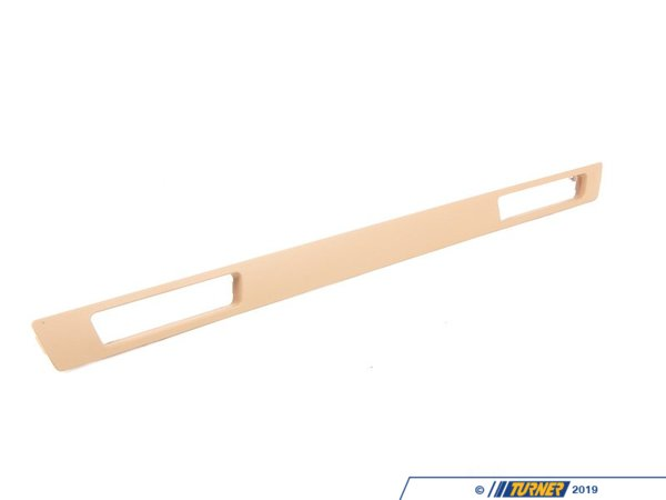 T#9842 - 51457138798 - Genuine BMW Decor Strip, Drinks Holder Beige - 51457138798 - E90 - Genuine BMW -
