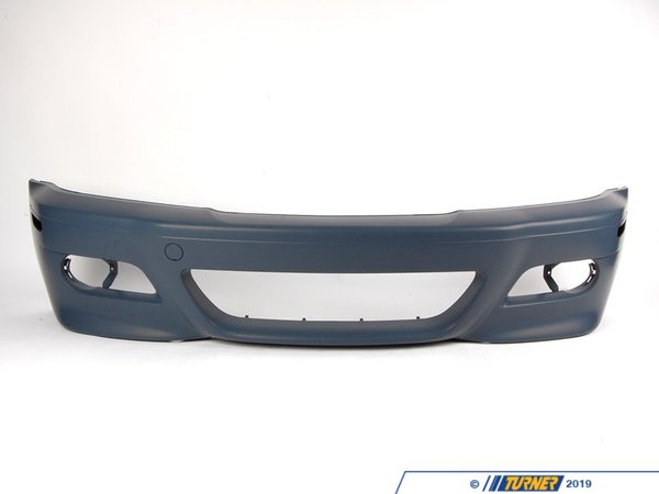 T#13681 - 51117894990 - Genuine BMW Front Bumper / Spoiler - E46 M3 - Replace your damaged, pitted or scratched E46 M3 front spoiler with this Genuine BMW part.   This bumper cover comes primed and will require painting.   Mouldings, grills and trim are available separately.This item fits the following BMWs:11/2001-2005  E46 BMW M3 - Genuine BMW - BMW