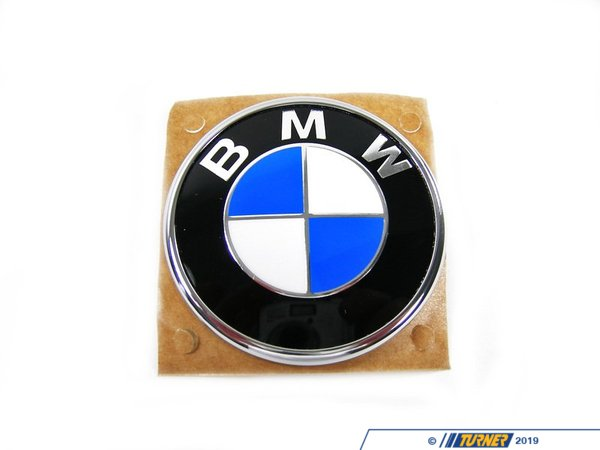 T#5349 - 51137019946 - BMW Trunk Emblem - E46 Convertible - Genuine BMW - BMW