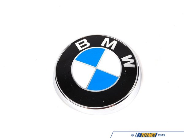 Genuine BMW Genuine BMW Rear Hatch Emblem - E46 325xi 323i 325i Touring 51148240128