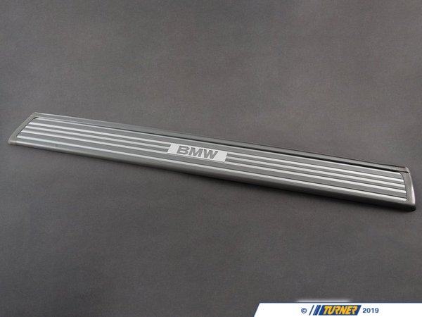 T#112612 - 51478126178 - Genuine BMW Sill Strip Front Silber - 51478126178 - E34 - Genuine BMW -