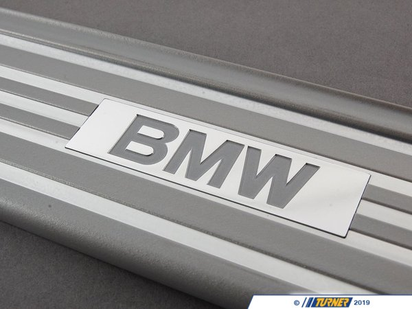 T#112613 - 51478126204 - Genuine BMW Sill Strip Rear Silber - 51478126204 - E34 - Genuine BMW -