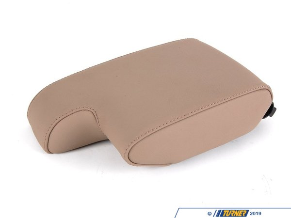 T#85470 - 51168151024 - Genuine BMW Armrest Leather 0396 Pergament - 51168151024 - E36 - Genuine BMW -