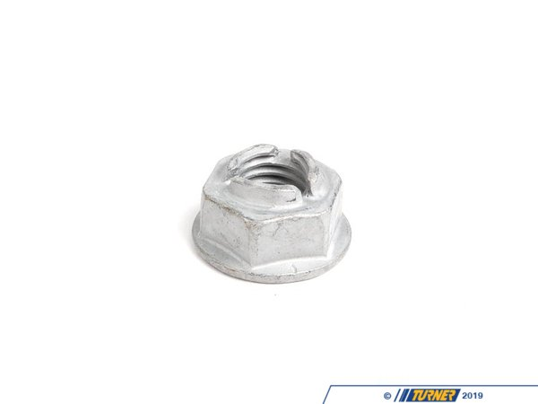 T#13504 - 33506784003 - Genuine BMW Rear Axle Hex Nut With Flange 33506784003 - Genuine BMW -