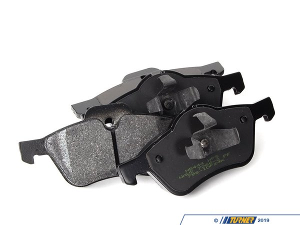 T#1156 - TMS1156 - Hawk HPS Street Brake Pads - Front - MINI Cooper & Cooper S (2002-06) - A high-performance street pad with much-improved braking performance and significantly reduced brake dust. The HPS pads are perfect for drivers who dont want an ordinary replacement pad and want something that will hold up for aggressive street. With the HPS pads you can expect:  Increased stopping power even when the pads are cold Longer pad life Low dust compared with other performance pads Quiet operation  In addition, the HPS pads are easy on rotors. And Hawk stands behind their pads with a limited lifetime warranty against defects.This pad set includes pads for both FRONT brakes.This item fits the following BMWs:2002-2006  R50 MINI MINI Cooper2005-2006  R52 MINI MINI Cooper Convertible, MINI Cooper S Convertible. 2002-2006  R53 MINI MINI Cooper S - Hawk - MINI