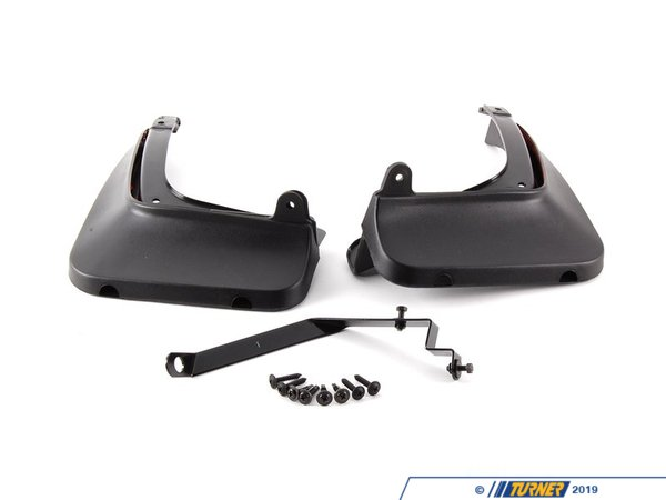 T#11427 - 82160404416 - Genuine BMW Set Mud Flaps, Rear 82160404416 - Genuine BMW -
