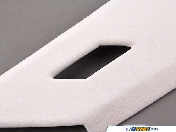 T#104549 - 51438160253 - Genuine BMW Covering Column Rear Left Silbergrau Hell - 51438160253 - Genuine BMW -