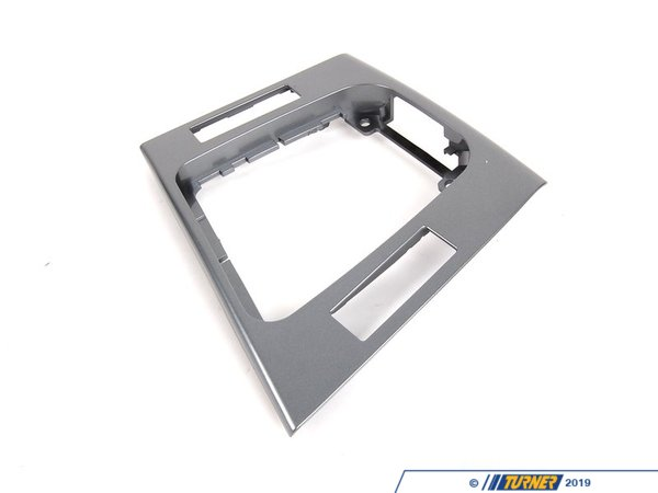 T#86130 - 51168234718 - Genuine BMW Depositing Box Bottom Panel - 51168234718 - Grau Hochglanz - Genuine BMW -