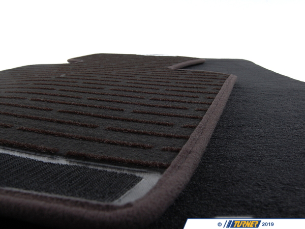 T#21133 - 51477030765 - Genuine BMW Set Of Floor Mats Velours 51477030765 - Anthrazit - Genuine BMW -