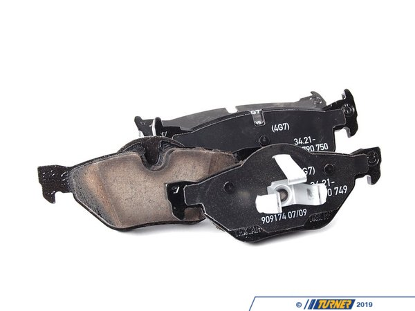 Genuine BMW Genuine BMW Rear Brake Pad Set 34216790761