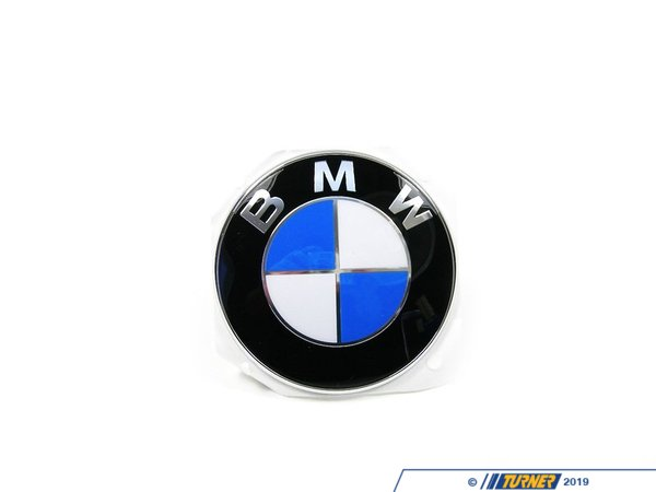 Genuine BMW BMW Hood/Trunk Emblem - F10, F12, E63, E85 Z4 Side Emblem 51147057794