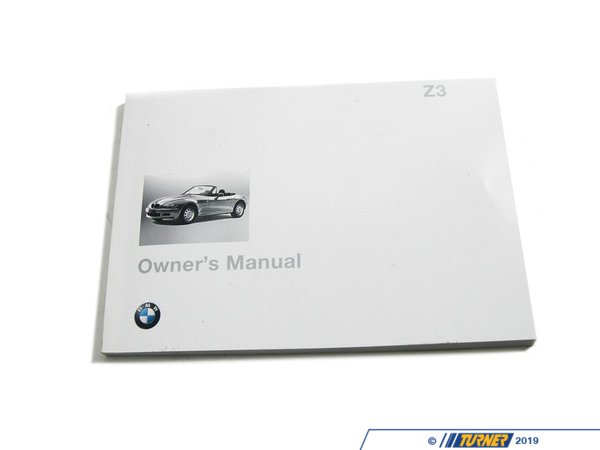 T#26795 - 01419790417 - Genuine BMW Owner's Handbook Z3 E36/7 - 01419790417 - Genuine BMW -