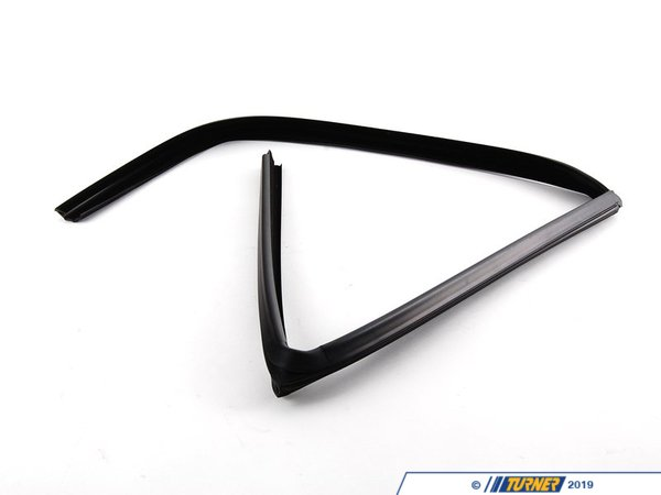 T#93981 - 51348213983 - Genuine BMW Left Rear Window Guide - 51348213983 - E36 - Genuine BMW -