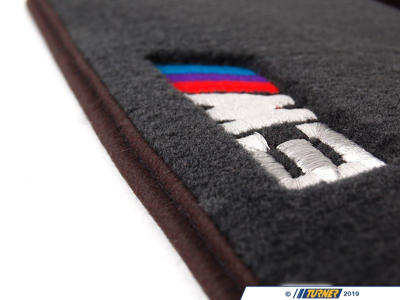 8211002923x Genuine Bmw E46 M3 Logo Floor Mats Turner