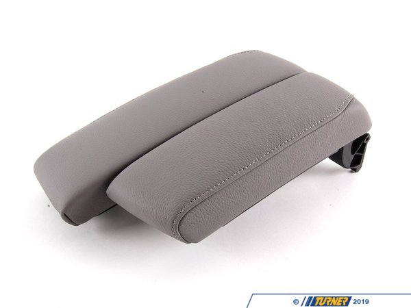 T#86907 - 51169133813 - Genuine BMW Armrest, Front Center Grau - 51169133813 - E90,E92,E93 - Genuine BMW -