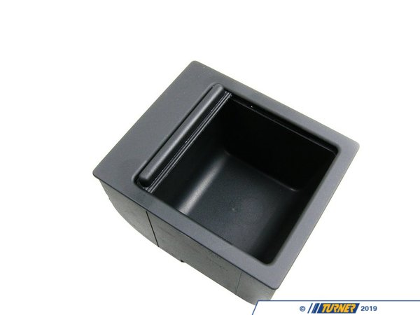 Genuine BMW Genuine BMW Center Console Storage Compartment - Black - E39 51168159698
