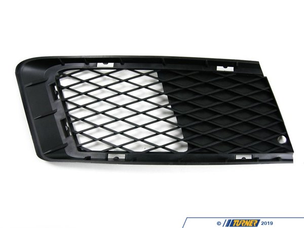 Genuine BMW Genuine BMW Bumper Grille - Passenger (Right) - E92 335i N54 3.0L, E92 335xi N54 3.0L, E92 N52 3.0L, E93 N52 3.0L 51117154720