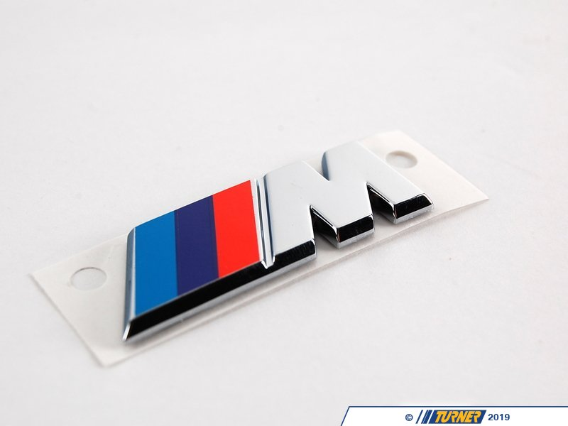 T#8851 - 51142492942 - Genuine BMW Emblem Front -M- - 51142492942 - Genuine BMW -