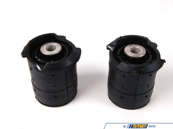 T#1688 - 33319066671 - Rear Subframe Bushings/Mounts - Fore/Front Pair - E36 M3 (Upgrade for E36 non-M) (Pair) - Genuine BMW - BMW