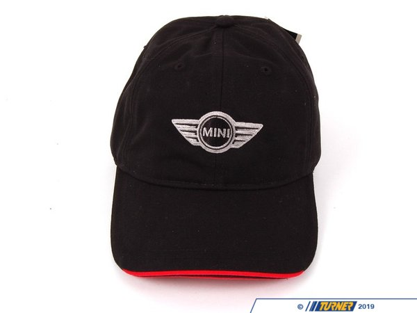 T#11303 - 80162163501 - Genuine MINI Accesssories MINI Recycled Cap-black/red 80162163501 - Genuine Mini -