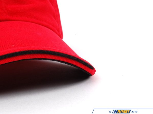 T#11304 - 80162163502 - Genuine MINI Accesssories MINI Recycled Cap-red/black 80162163502 - Genuine Mini -