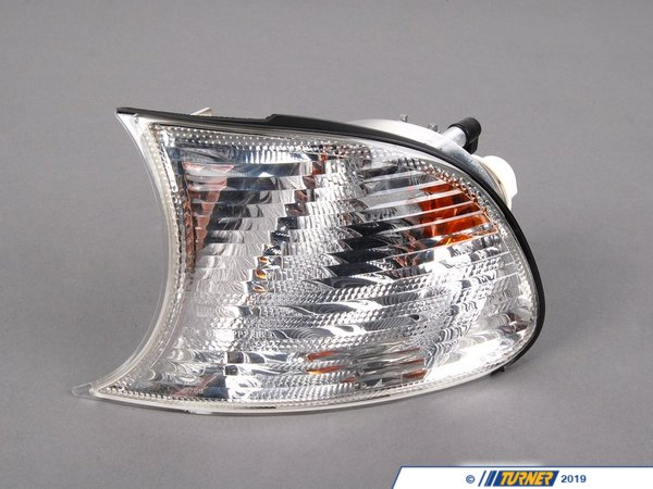 T#14088 - 63137165857 - Clear Turn Signal - Left - E46 325ci, 330ci, M3 - Genuine BMW - BMW
