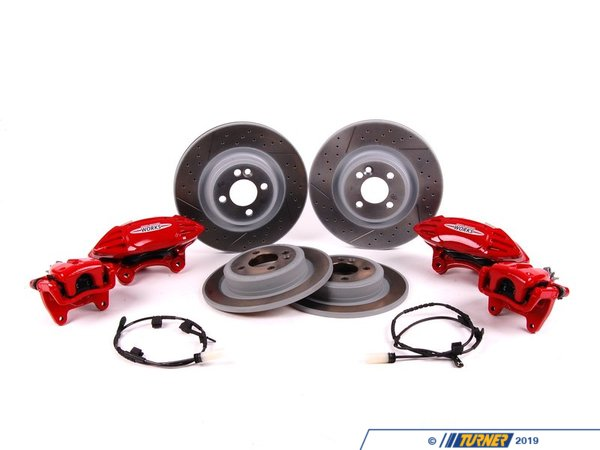T#22967 - 34110432802 - Genuine MINI Sports Brake Retrofit Kit J. Cooper Works - 34110432802 - Genuine Mini -