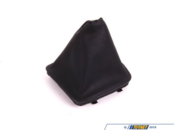 T#52618 - 25111434099 - Genuine BMW Imitation Leather Gear Lever Cover Schwarz - 25111434099 - Genuine BMW -