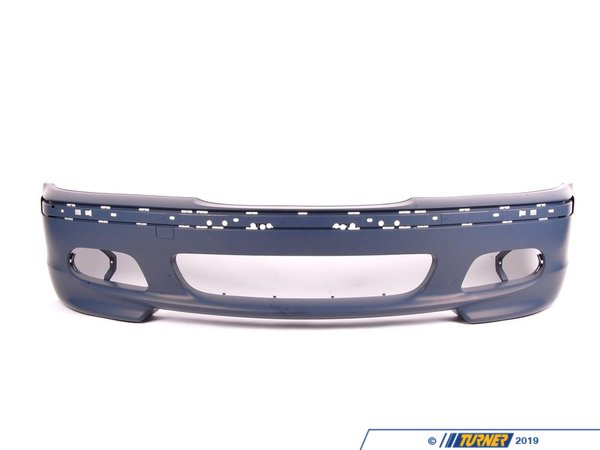 Genuine BMW E46 Sedan/Touring M-Technic Front Bumper Cover 51117893328
