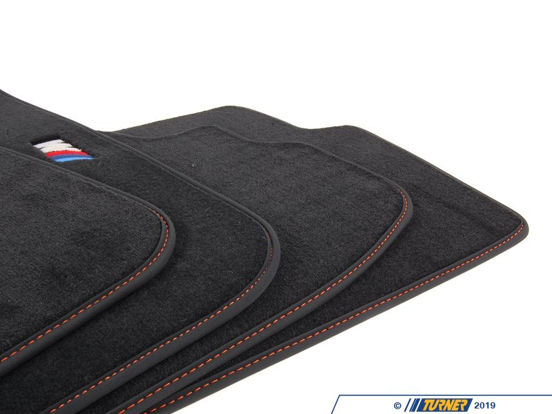 82112293541 Genuine Bmw E82 1m Floor Mats Black With