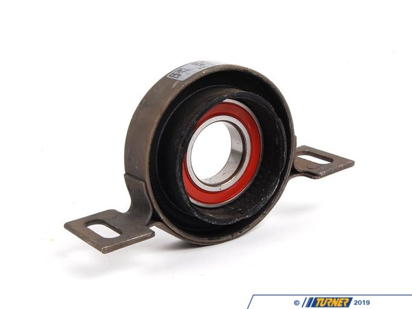 T#12090 - 26121229317 - Driveshaft Center Support Bearing - E46 325xi 330xi - Replacement center support bearing for the driveshaft. Often the cause of annoying vibrations and clunking noises during take-offs. This is the OEM aluminum bracket with bearing.This item fits the following BMWs:2001-2005  E46 BMW 325xi 330xi - Genuine BMW - BMW
