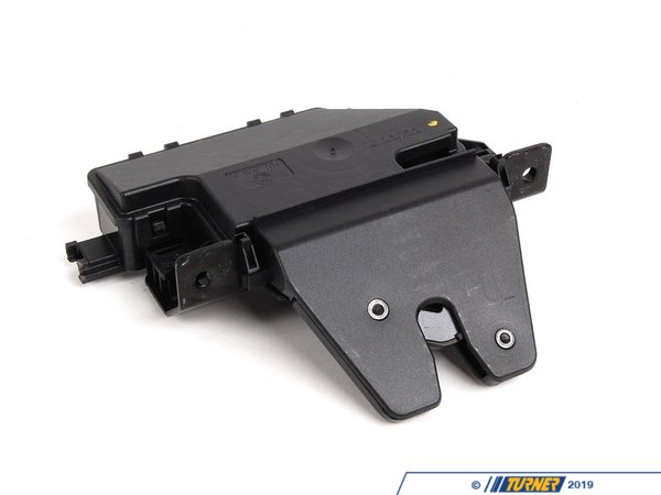 T#12794 - 51247840617 - Trunk Lock Assembly - E46 E9x E82 E60 E63 E85 Z4 - Genuine BMW - BMW