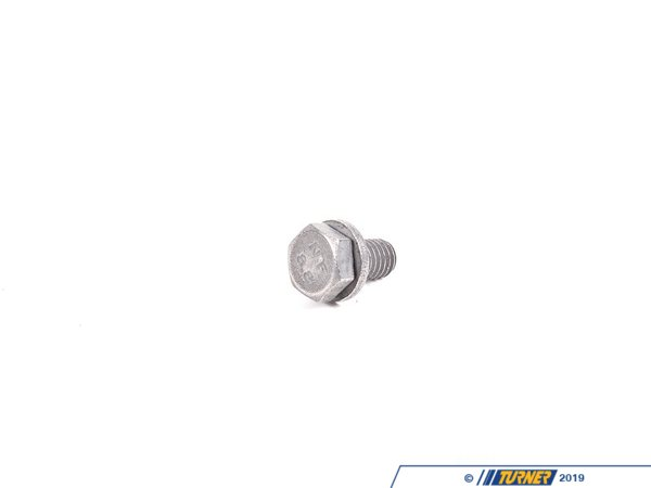 T#6372 - 07119904517 - Genuine BMW Hex Bolt With Washer 07119904517 - Genuine BMW Hex Bolt With WasherThis item fits the following BMW Chassis:E30 M3,E36 M3,E34 M5,E39 M5,E60 M5,E63 M6,E46 M3,E70 X5M,E71 X6M,E82 1M Coupe,E85 Z4M,E53 48IS,E30,E34,E36,E38,E39,E46,E53 X5 X5,E63,E65,E70 X5,E71 X6,E82,E83 X3,E85 Z4,E86 Z4,E89 Z4,E90,E92,E93,F01,F02,F06,F10,F12,F13,F15,F16,F25 X3,F26 X4 X4,F30,F31,F80 M3,F82 M4,F83,i12 - Genuine BMW -