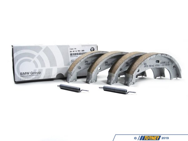 Genuine BMW Parking Brake Shoe Kit 34416761289