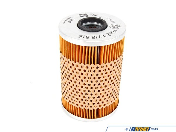 T#6850 - 11429063138 - Genuine BMW Oil Filter Element - E12, E28, E34, E24, E23, E32 - Genuine BMW - BMW