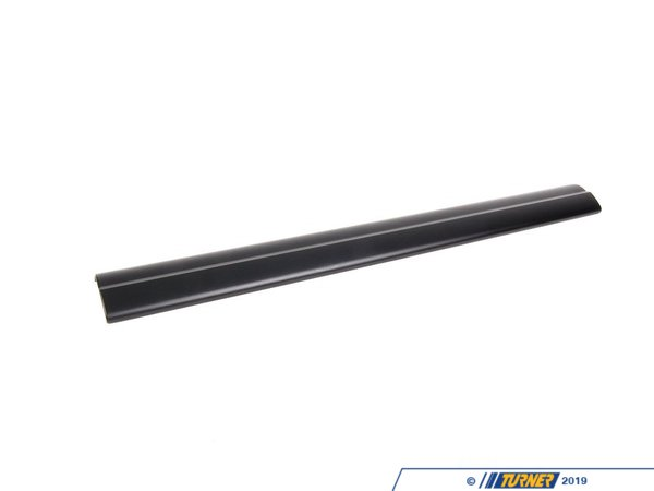 T#111508 - 51477066627 - Genuine BMW Cover Plate, Entry Sill, Inner Front Schwarz - 51477066627 - Genuine BMW -