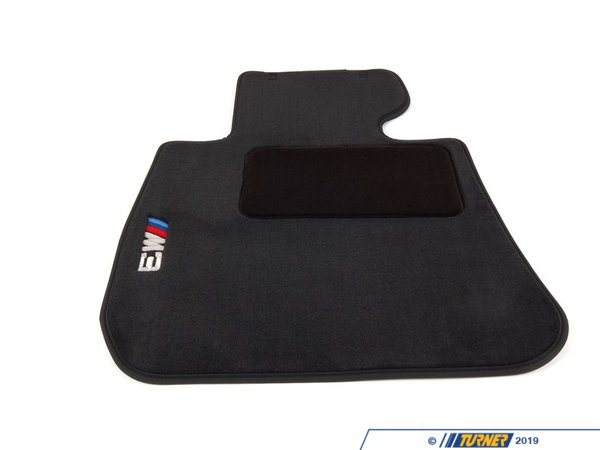 T#16394 - 82112293526 - Genuine BMW Accessories M Carpet Floor Mats, Black 82112293526 - Genuine BMW -