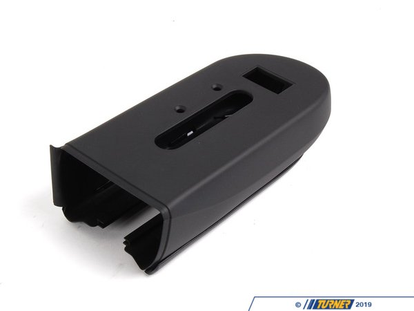T#122776 - 52107003543 - Genuine BMW Cover, Headrest Left Schwarz - 52107003543 - E46,E93 - Genuine BMW -