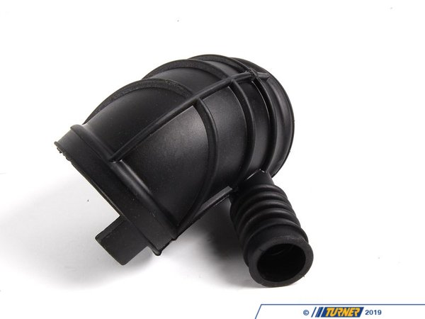T#5399 - 13541438759 - Intake Boot - Lower - E46 330i, E46 325i M56 - This intake boot connects to the throttle housing to the upper intake boot. If it becomes cracked or loose it can cause unmetered air to enter the engine and trigger a check engine light. This fits BMW E46 330i Z3 3.0i and E46 325i with M56 engine. This item fits the following BMWs:2003-2005  E46 BMW 325i 325ci with M56 SULEV engine 1999-2005  E46 BMW 330i 330ci 330xi1997-2002  Z3 BMW Z3 3.0i  - Genuine BMW - BMW