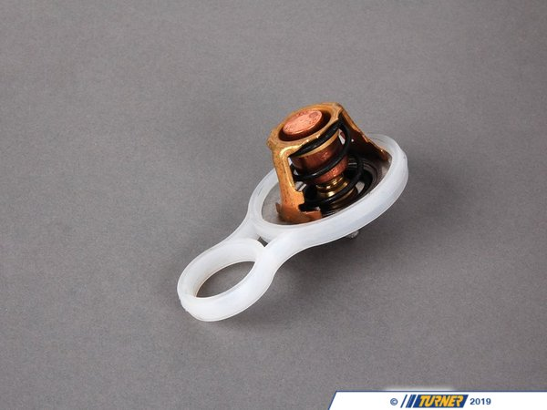 T#14601 - 11537596787 - Genuine MINI Engine Thermostat With Gasket 11537596787 - Genuine MINI -