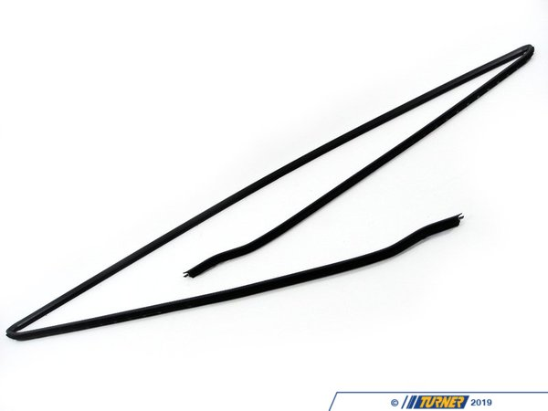 T#9522 - 51318159784 - Front Windshield Molding - E39 525i, 528i, 530i, 540i, M5 - Genuine BMW - BMW