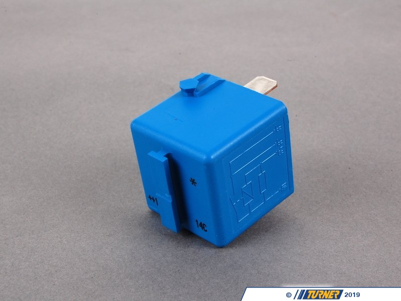 61366915327 Genuine BMW Relay, Make Contact, Sky blu 61366915327