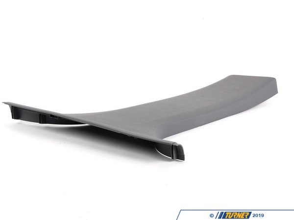 T#104847 - 51438226586 - Genuine BMW Cover, B-Column Bottom Right Grau - 51438226586 - E46 - Genuine BMW -