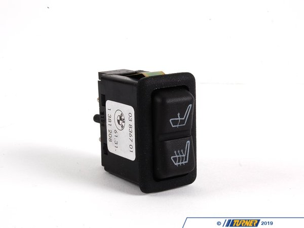 T#10565 - 61311381208 - Genuine BMW Seat Heating Switch - 61311381208 - E30,E30 M3 - Genuine BMW -