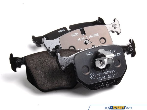 T#2837 - 34216761248 - Genuine BMW Brake Pads - E39 M5, E46 M3, Z4 M - Rear - Genuine BMW - BMW