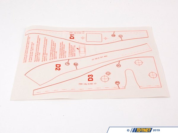 T#26120 - 01399791462 - Genuine BMW Jip - 01399791462 - E46 - Genuine BMW -