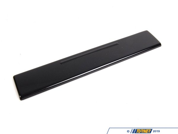 T#108404 - 51458256236 - Genuine BMW Decorative Strip, Dashboard - 51458256236 - Schwarz - Genuine BMW -