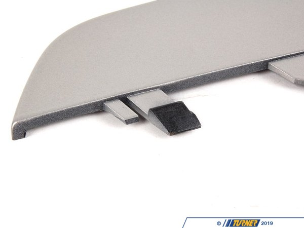 T#75992 - 51117024776 - Genuine BMW Grid Upper Part Right Titan - 51117024776 - E46 - Genuine BMW -