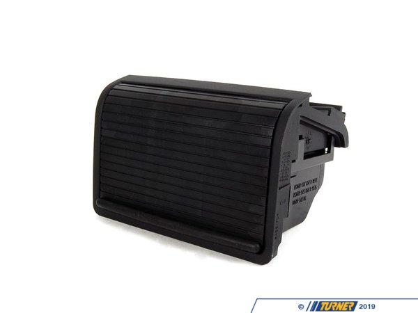 T#23762 - 51168225986 - Center Console Rear Storing Partition - Black - E46  - Genuine BMW - BMW